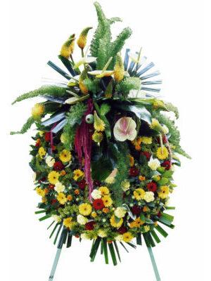 couronne sur pied  funéraire a partir de 220.00 €