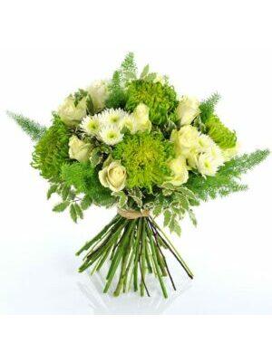 bouquet naïveté vert et blanc a partir de 40.00 €