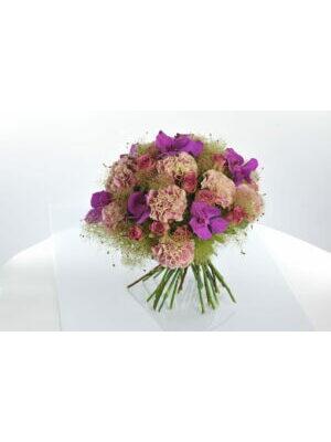 bouquet romantique orchidées  VANDA  a partir de 40.00 €