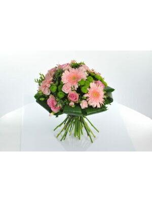bouquet rond  classique ROSE  a partir de 40.00 €